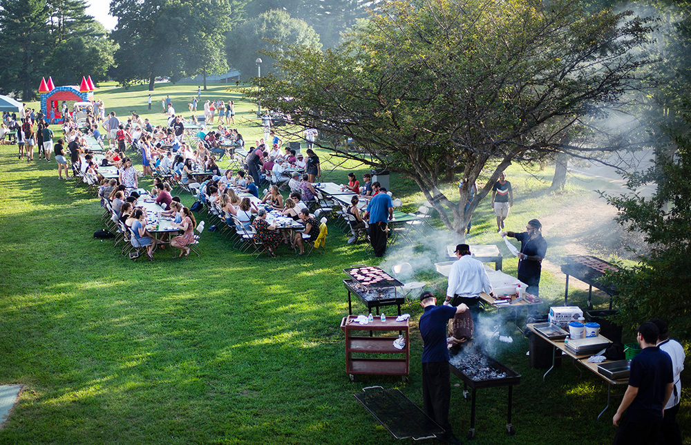 Skidmore College Founder's Day Barbeque 2018