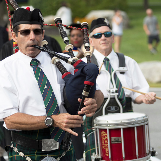 Bagpipers+at+Skidmore+College