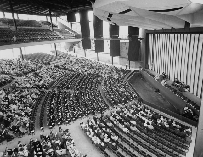 First Commencement at SPAC, 1967