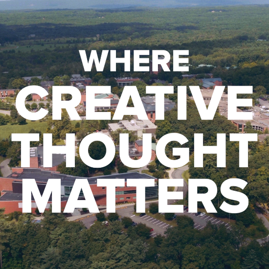 An+image+of+Skidmore%27s+campus%2C+where+Creative+Thought+Matters