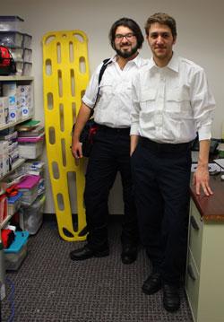 David Goroff '14 & Mark Benhaim '14