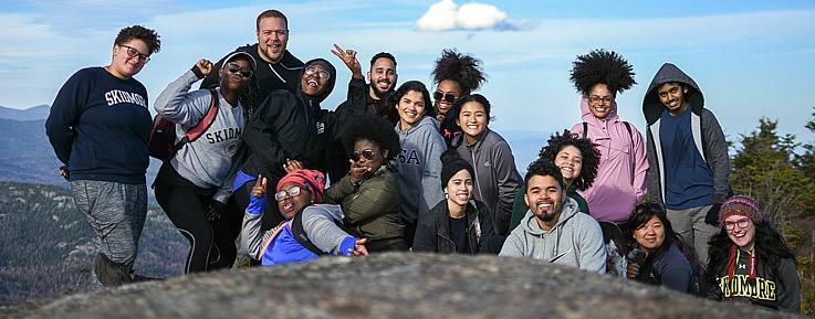OP Students Hiking Trip