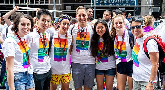 Skidmore at 2019 World Pride in NYC