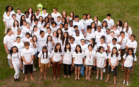 2012 Pre College Program Group Photo by Charlie Samuels