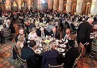 Skidmore's Presidents Society launch dinner