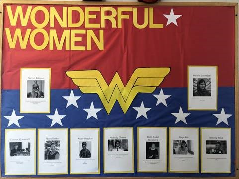 Bulletin Board for Women's History Month