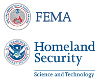 DHS Science and Technology, FEMA-AFG logos