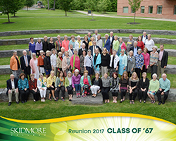 Class of 1967 with Spouses
