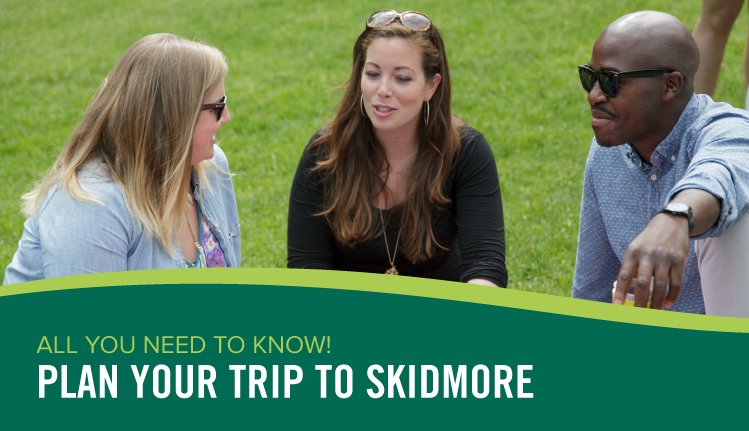 Plan your trip to Skidmore