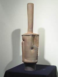 Benjamin Eberle '03, Bottle Form 3, 2002, clay