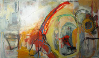 Sarah Nohe '03, Untitled, 2002, oil on canvas