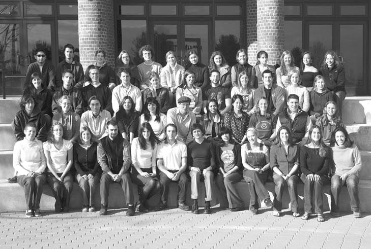 2004 Senior Thesis Group