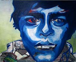 Alex Smith '06, Untitled, oil on canvas