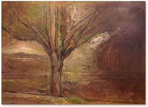 Jake Berthot, Bayard's Meadow, 1999, oil on panel