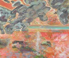 Bernard Chaet, Heavy Clouds, 2005, oil on canvas
