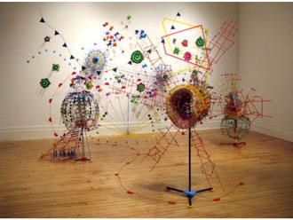 Urban Weather Prairies - Symphonic Studies in D, by Nathalie Miebach