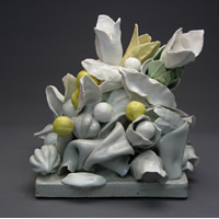 Still Life with White, Yellow, and Green