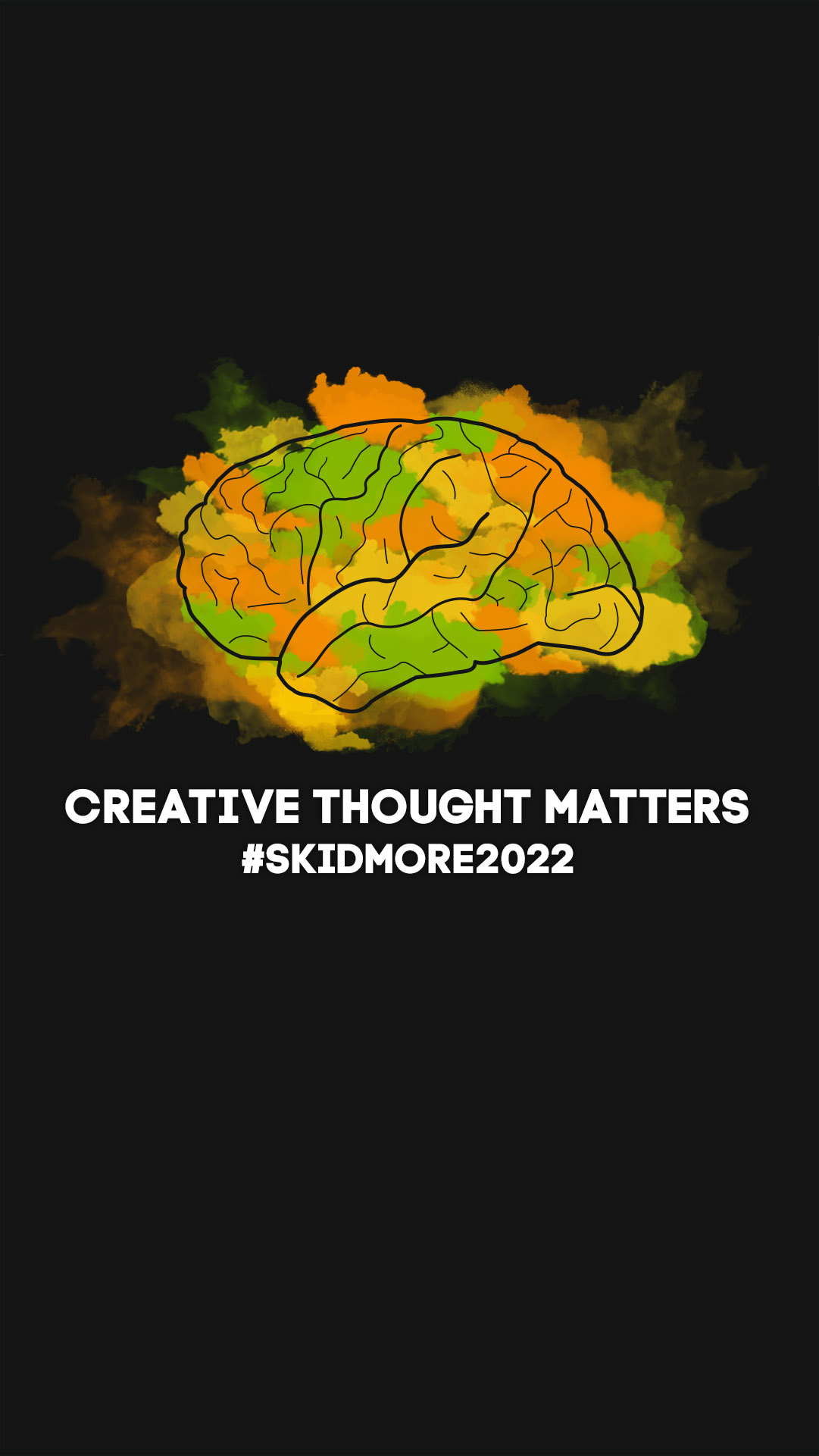Creative Thought Matters Phone Background