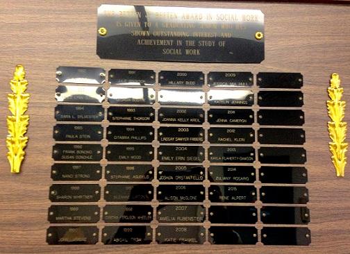 SW award