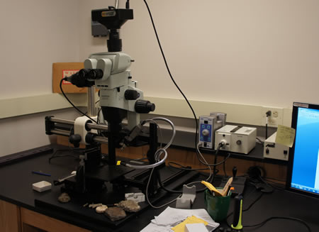 Microscope and Microdrill