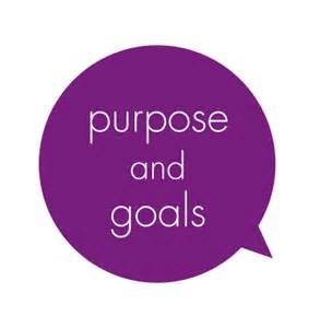 Purpose and goal image