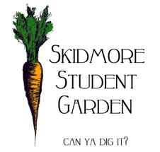 Skidmore Student Garden - can ya dig it?