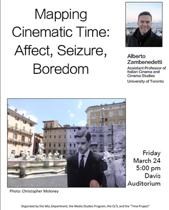 Mapping Cinematic Time: Affect, Seizure, Boredom lecture