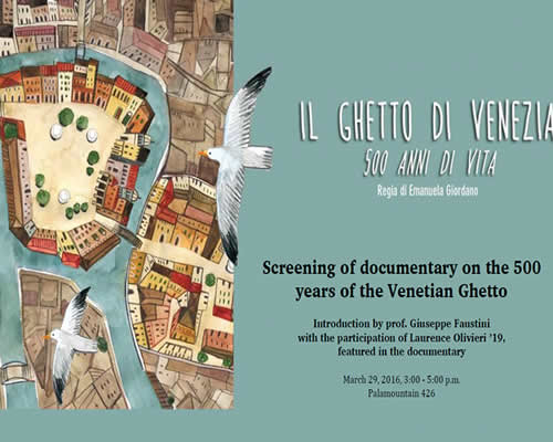 Venice Ghetto Poster March 2016