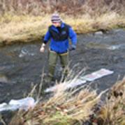 field work in Kayaderosseras Creek