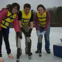 sediment studies on Loughberry Lake