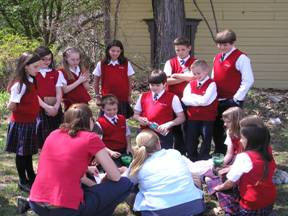 Educational outreach in local schools