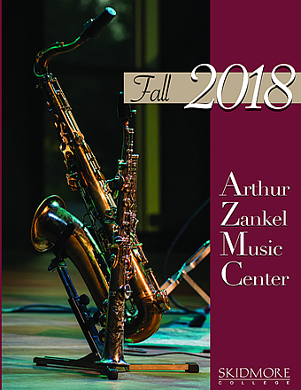 Zankel Fall 2018 brochure cover