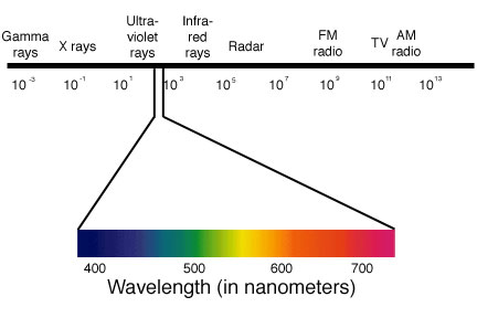 Visual system link you can learn more about the electromagnetic spectrum at the nasa site including information about infrared rays ccuart Choice Image
